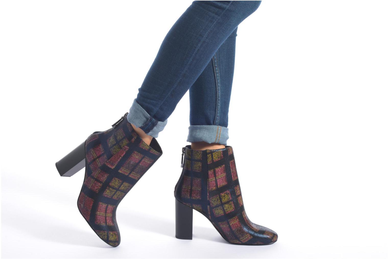 Bottines et boots What For Zille Bleu vue bas / vue portée sac
