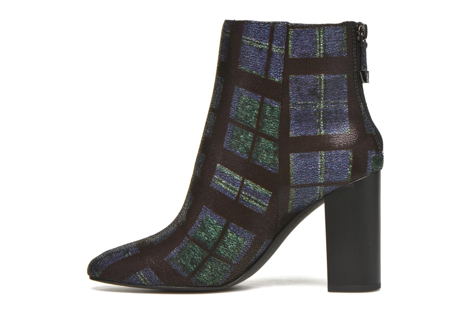 Ankle boots What For Zille Blue front view