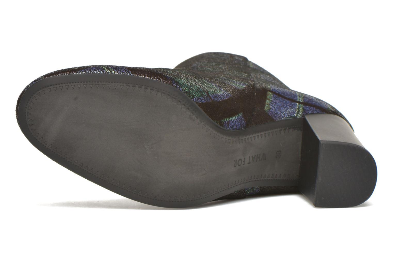 Bottines et boots What For Zille Bleu vue haut