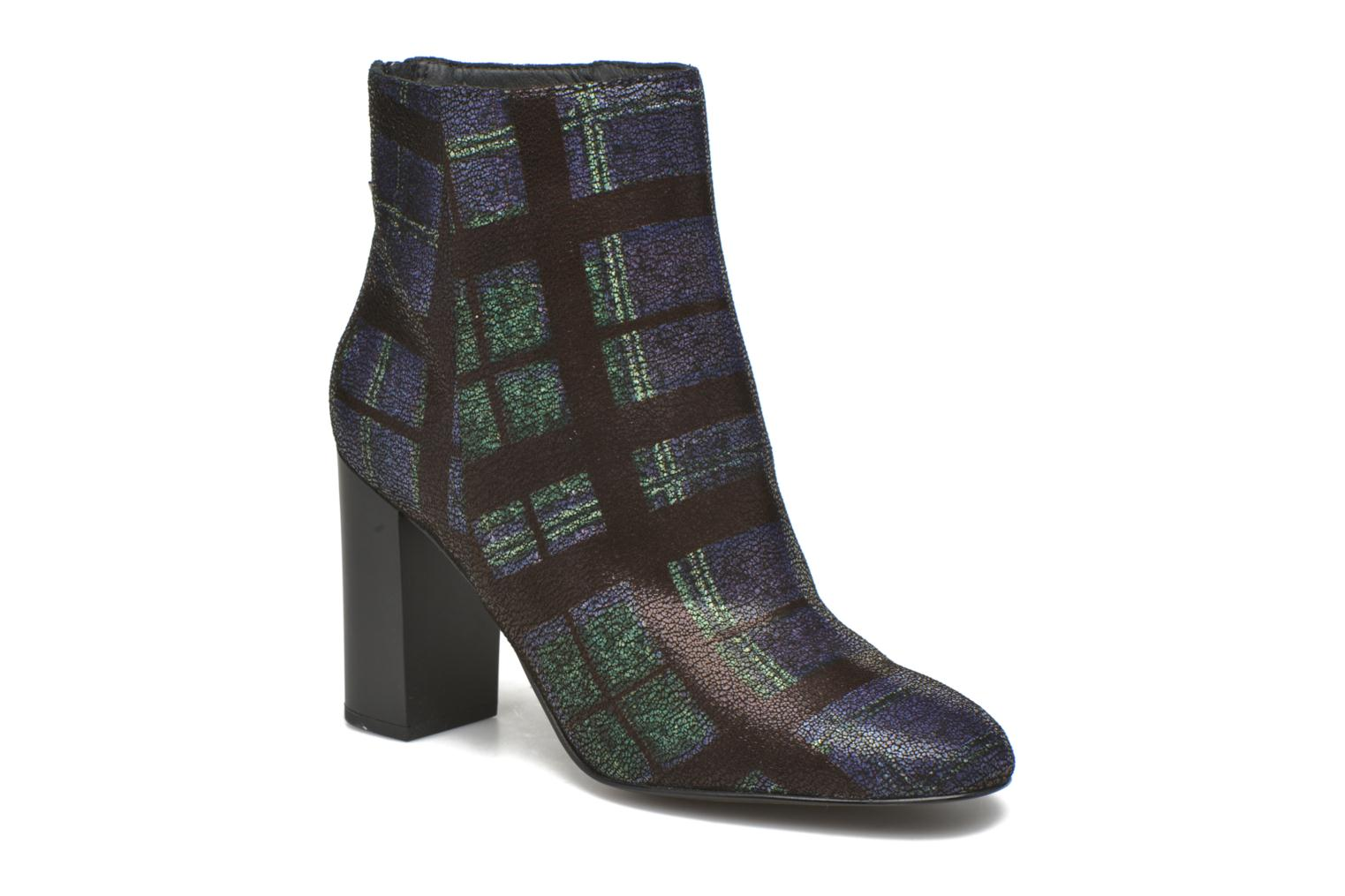 Ankle boots What For Zille Blue detailed view/ Pair view