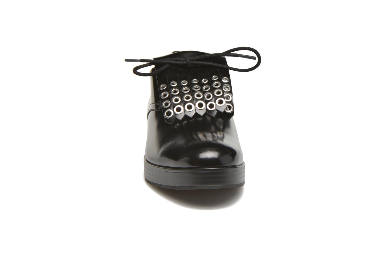 Chaussures à lacets What For Dinhel Noir vue portées chaussures