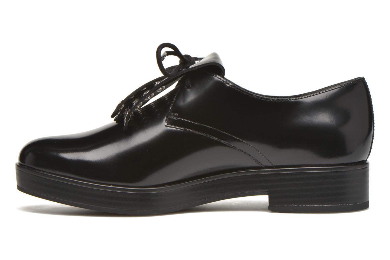Chaussures à lacets What For Dinhel Noir vue face