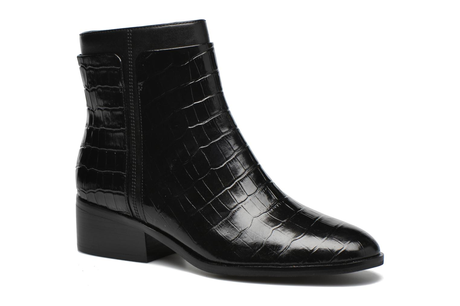 Marques Chaussure femme What For femme Panhu Black Croco