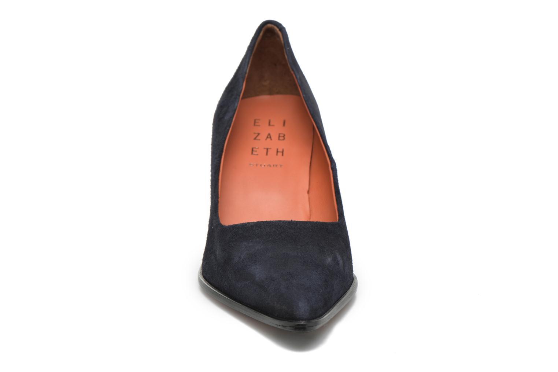 Escarpins Elizabeth Stuart Adagio 300 Bleu vue portées chaussures