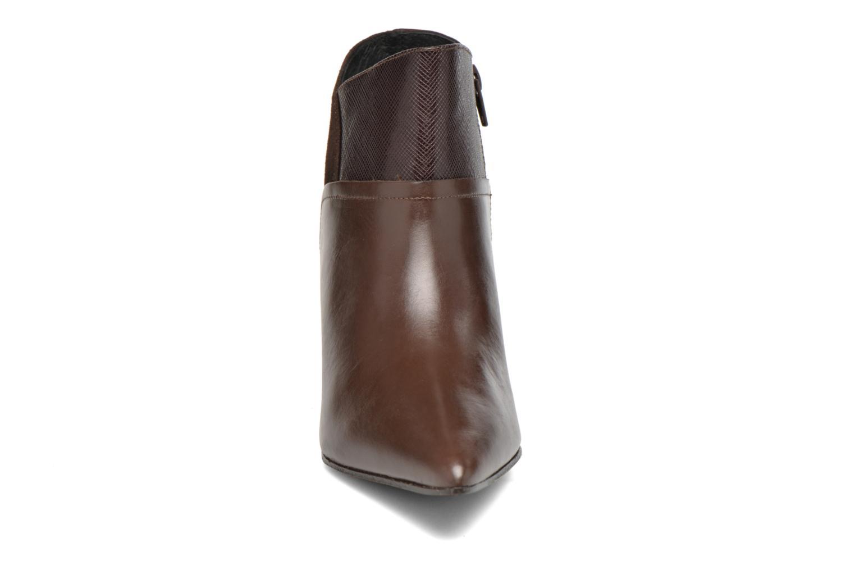 Ankle boots Elizabeth Stuart Lebrac 536 Brown model view