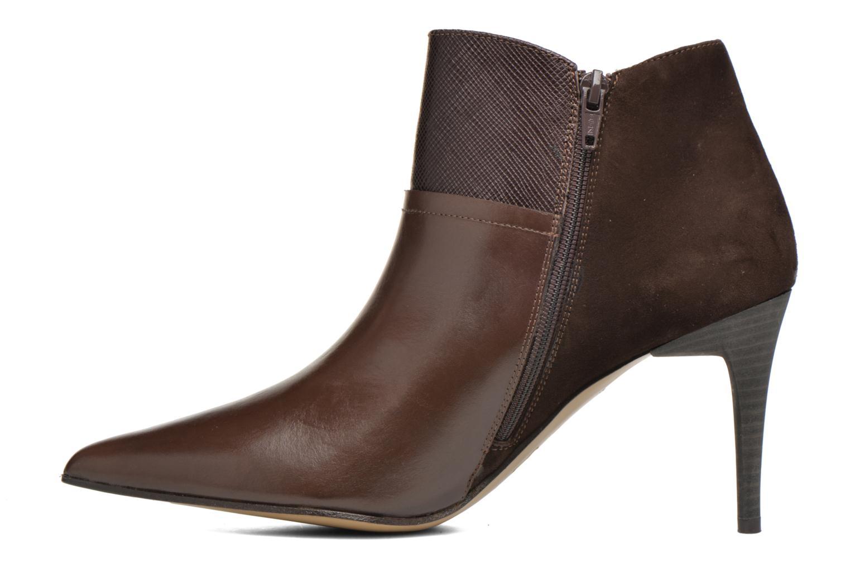 Ankle boots Elizabeth Stuart Lebrac 536 Brown front view