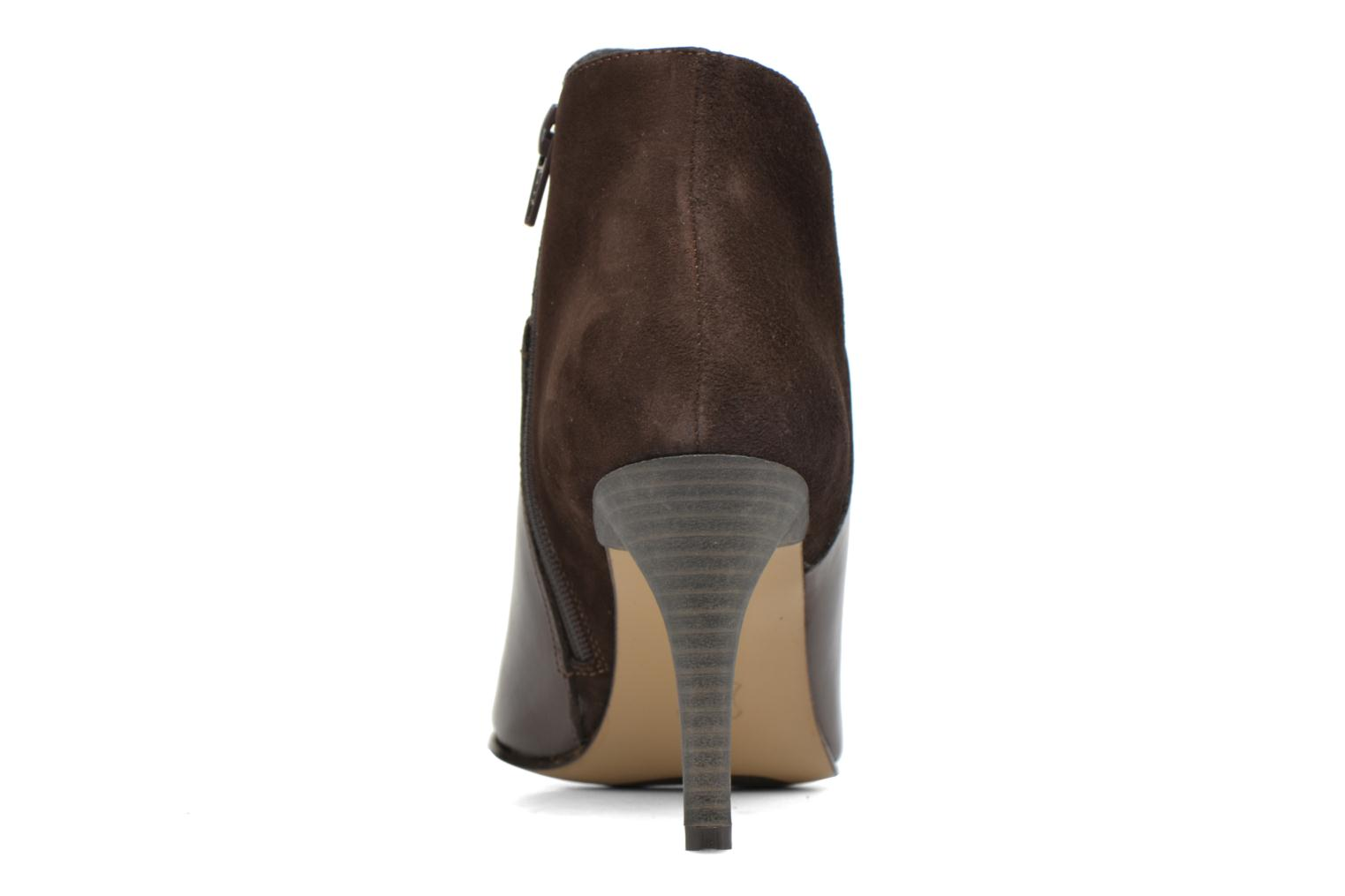 Ankle boots Elizabeth Stuart Lebrac 536 Brown view from the right