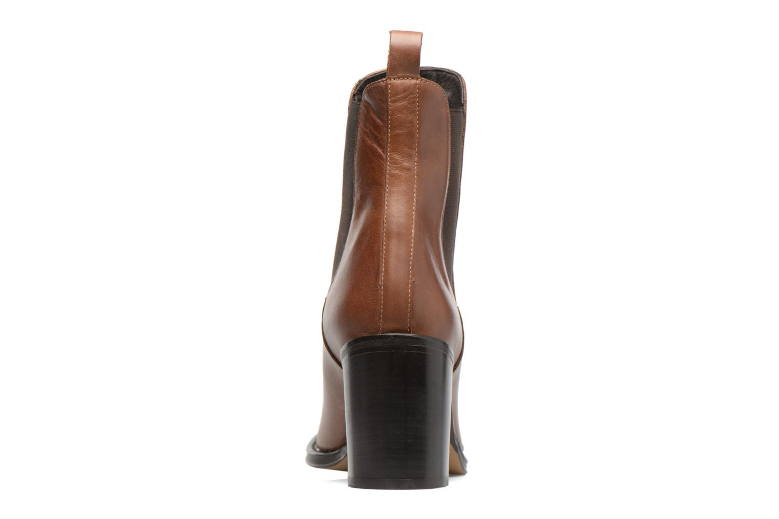 Ankle boots Elizabeth Stuart Sopra 304 Brown view from the right