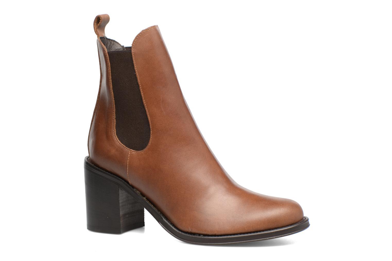Bottines et boots Elizabeth Stuart Sopra 304 Marron vue détail/paire