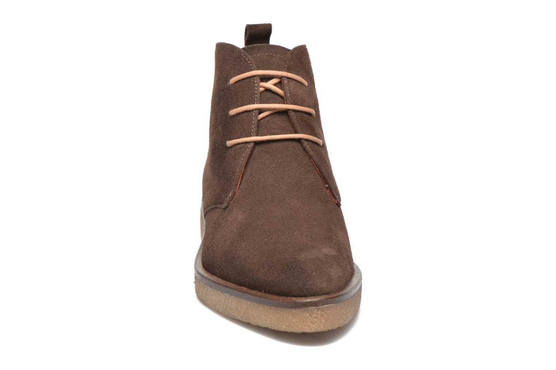 Lace-up shoes Elizabeth Stuart Volta 334 Brown model view