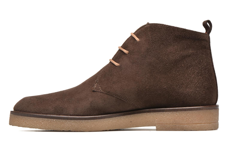 Lace-up shoes Elizabeth Stuart Volta 334 Brown front view