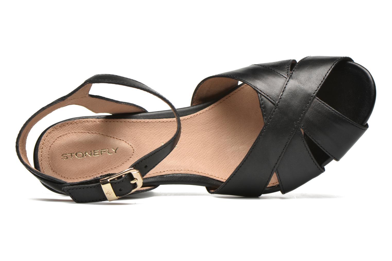 Sandales et nu-pieds Stonefly Diana 3 Calf Noir vue gauche