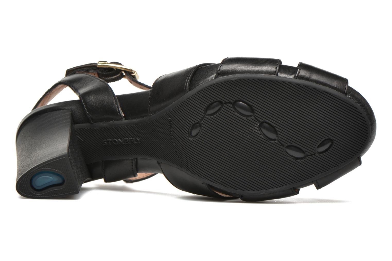 Sandales et nu-pieds Stonefly Diana 3 Calf Noir vue haut