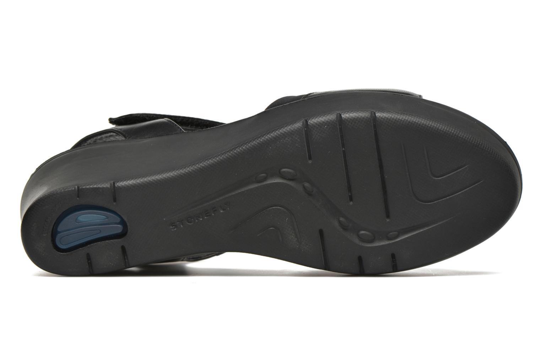 Sandales et nu-pieds Stonefly Tess 7 Noir vue haut