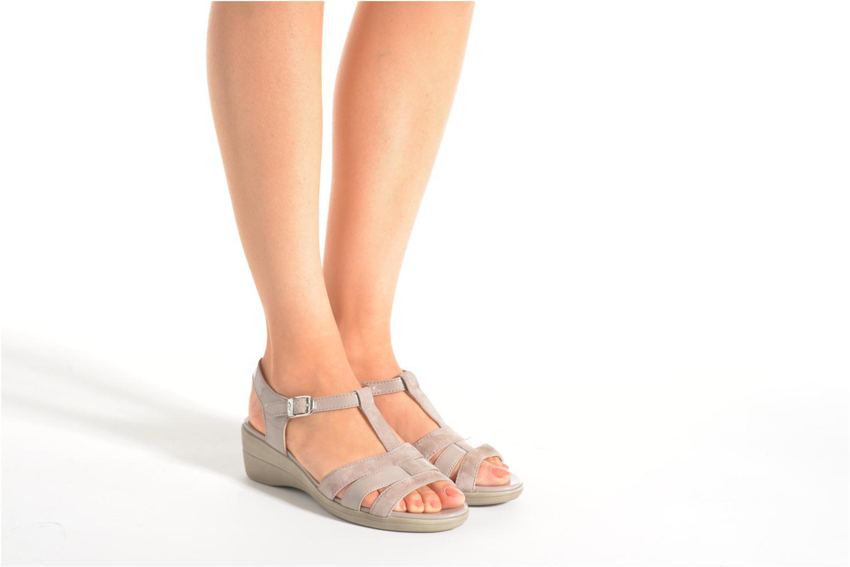 Sandales et nu-pieds Stonefly Vanity III 2 Go Beige vue bas / vue portée sac