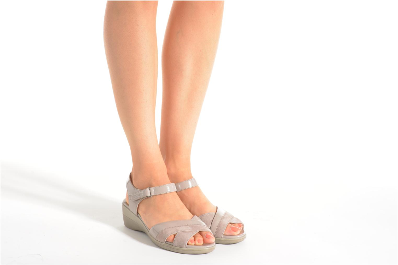 Sandales et nu-pieds Stonefly Vanity III 3 Go Beige vue bas / vue portée sac