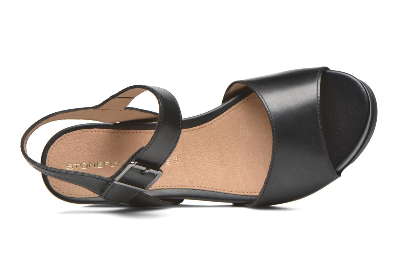 Sandales et nu-pieds Stonefly Anita 1 Noir vue gauche