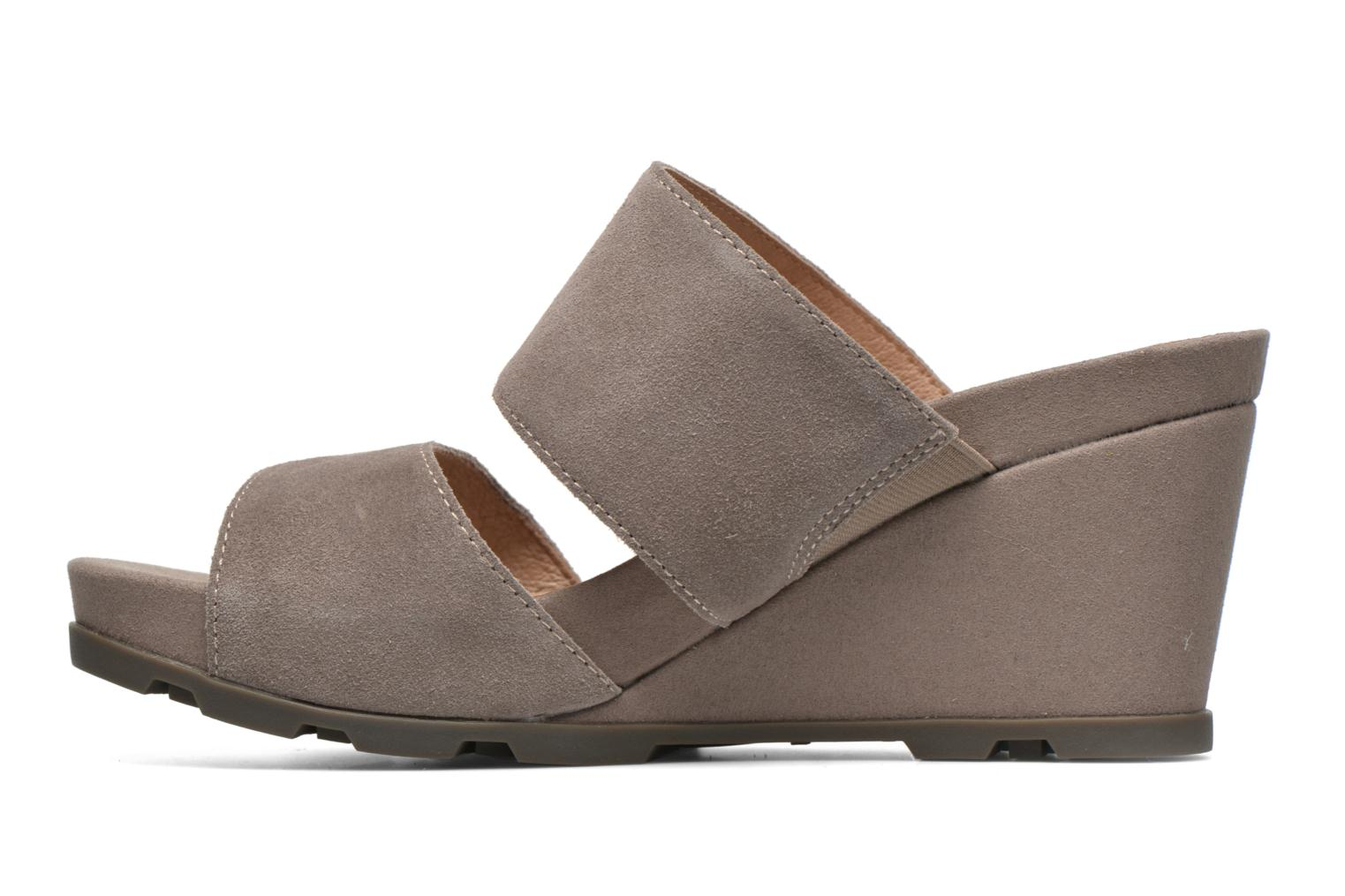 Mules & clogs Stonefly Anita 2 Velour Grey front view