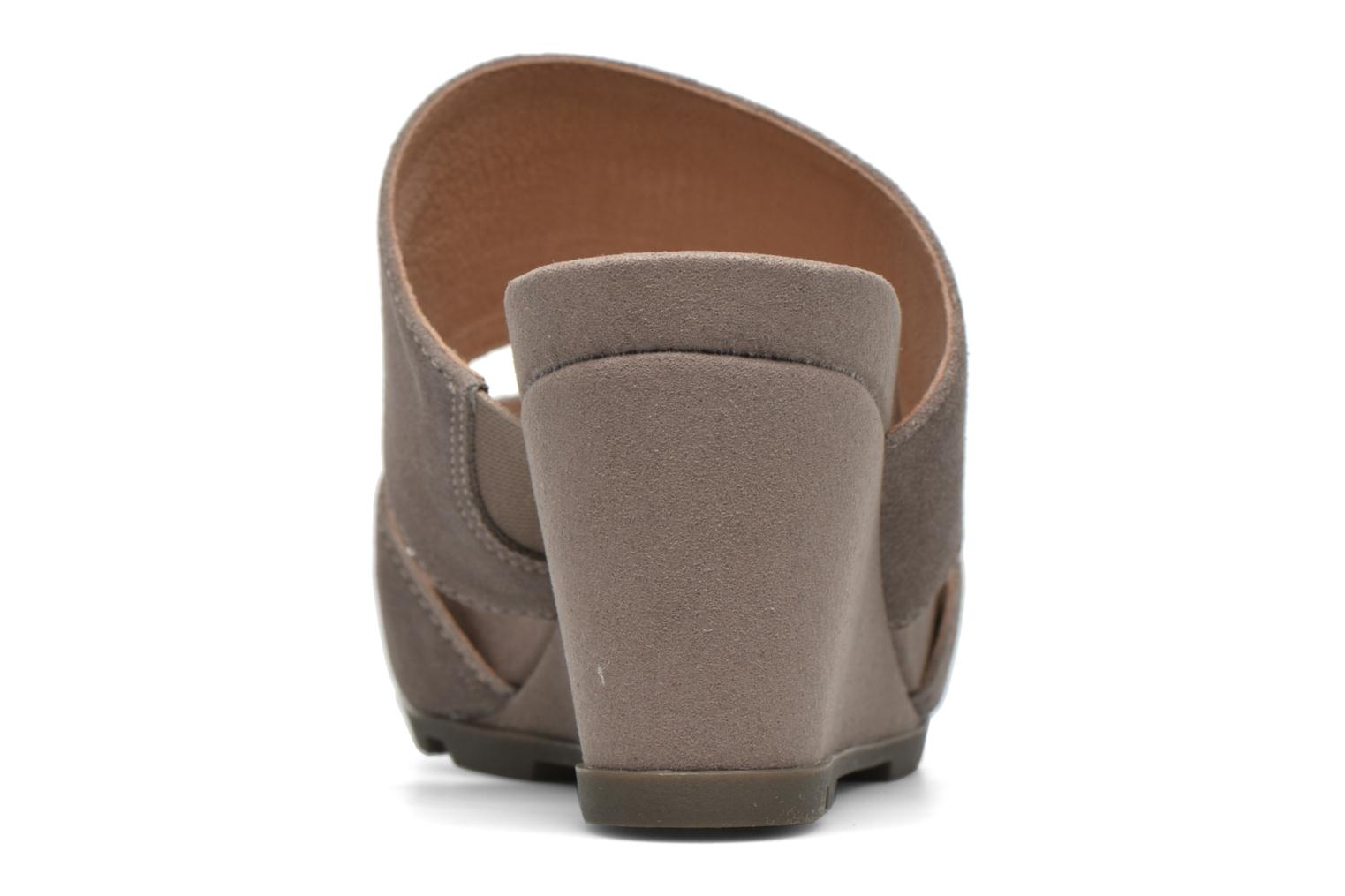 Mules & clogs Stonefly Anita 2 Velour Grey view from the right