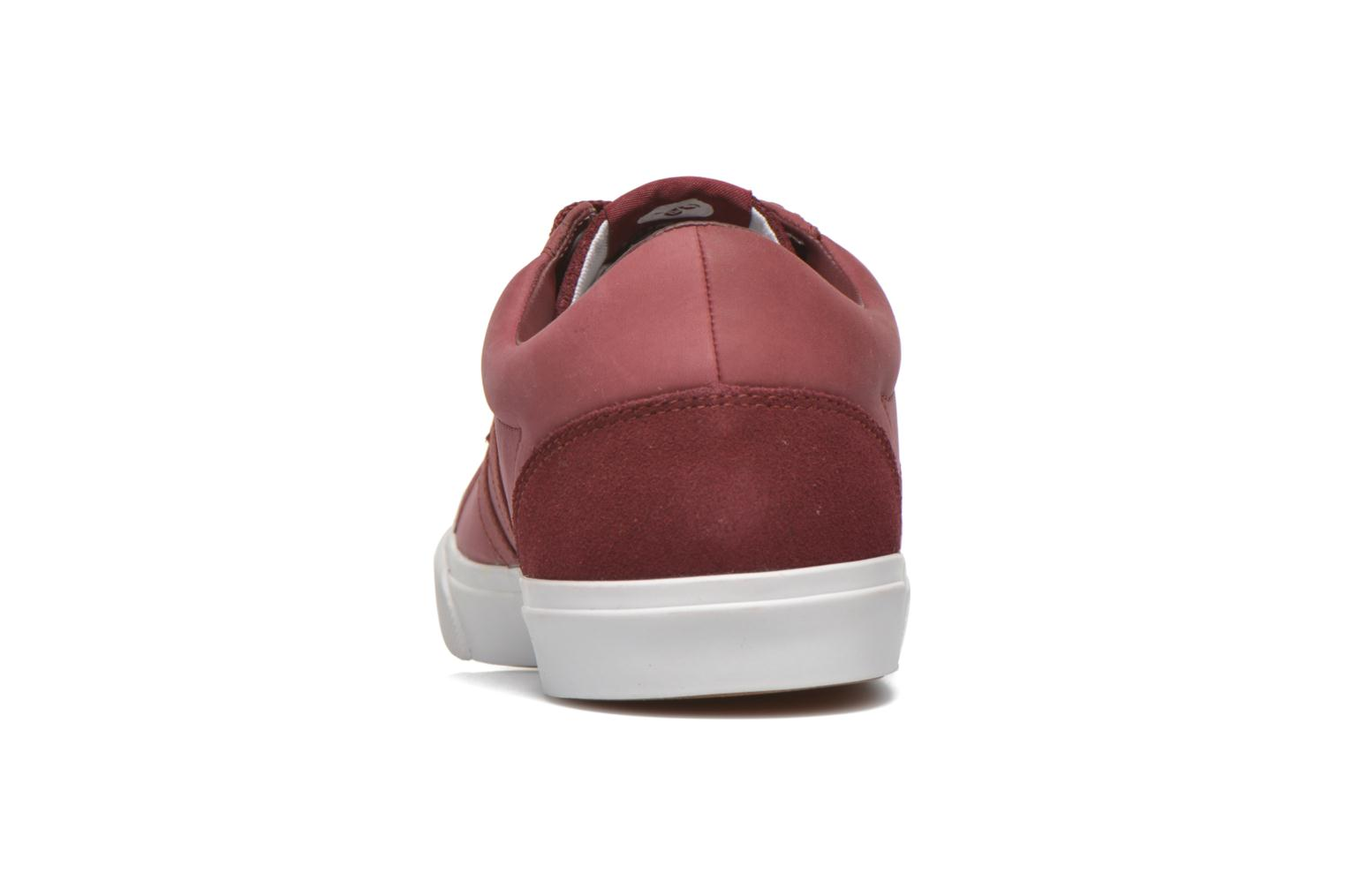 Baseline Court Leather Cabernet