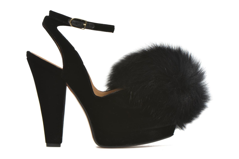 Zapatos de tacón Sonia Rykiel Plateforme Pompon Negro vistra trasera