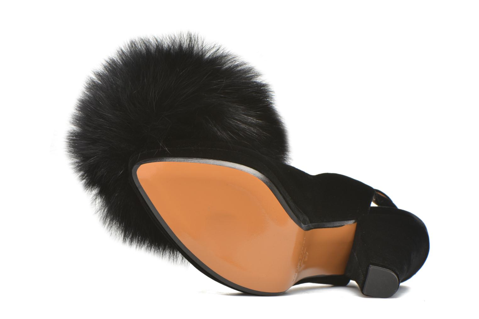 High heels Sonia Rykiel Plateforme Pompon Black view from above