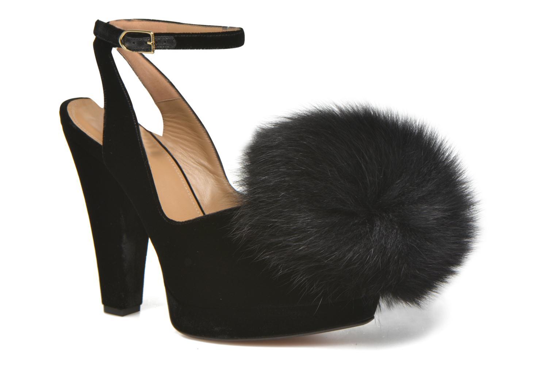 High heels Sonia Rykiel Plateforme Pompon Black detailed view/ Pair view