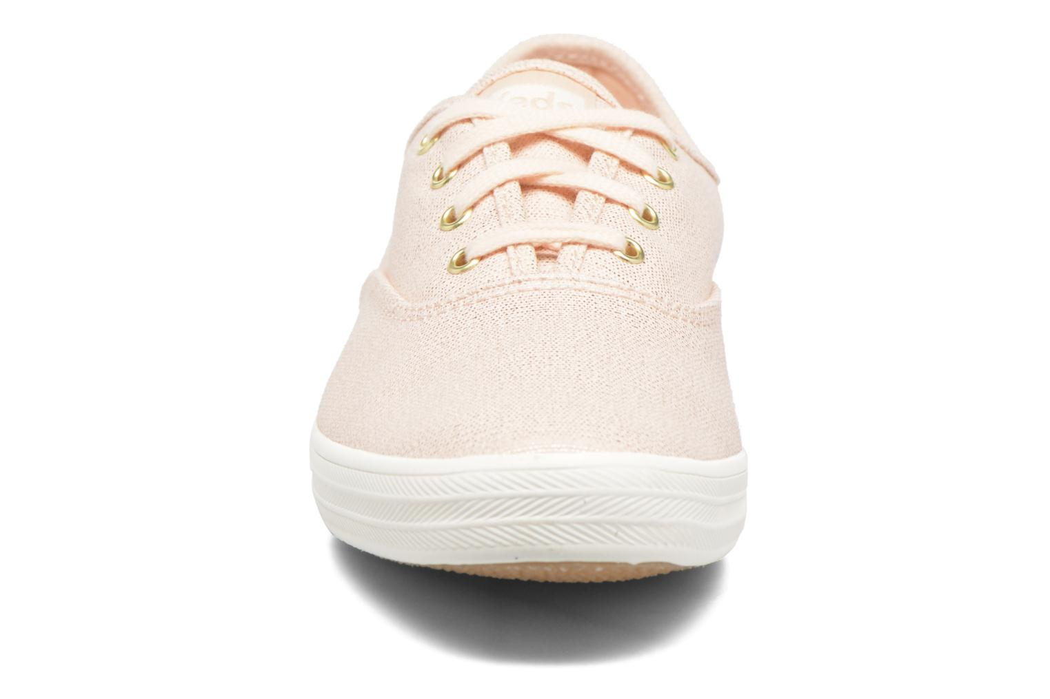 Trainers Keds Ch Metallic Canvas Pink model view