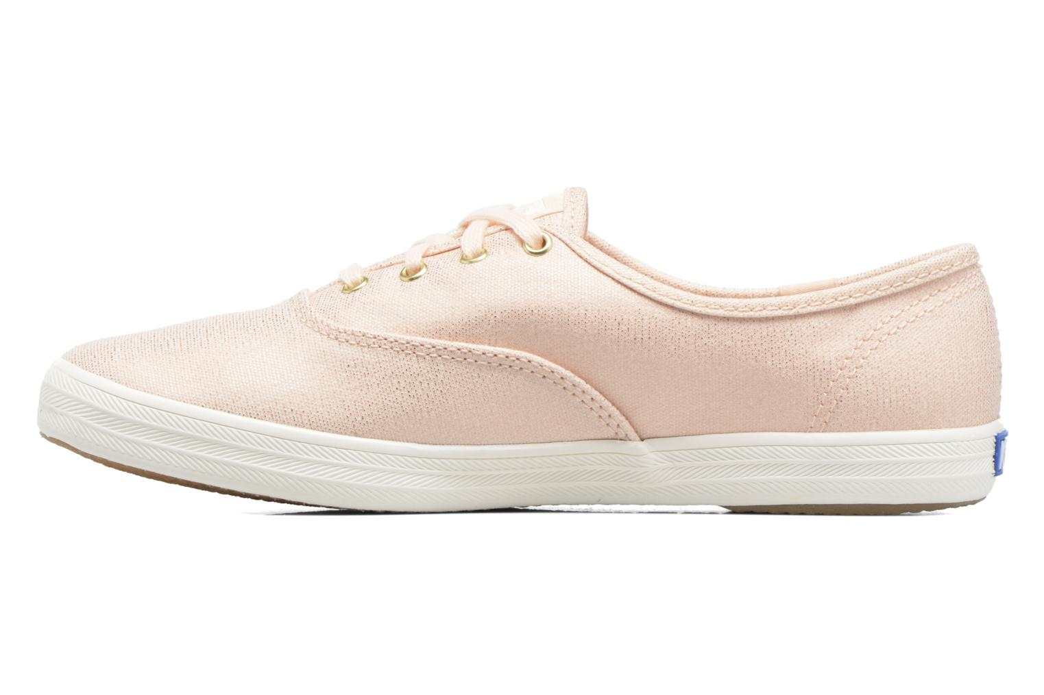 Trainers Keds Ch Metallic Canvas Pink front view