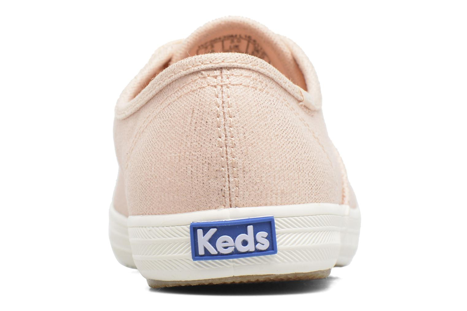Trainers Keds Ch Metallic Canvas Pink view from the right