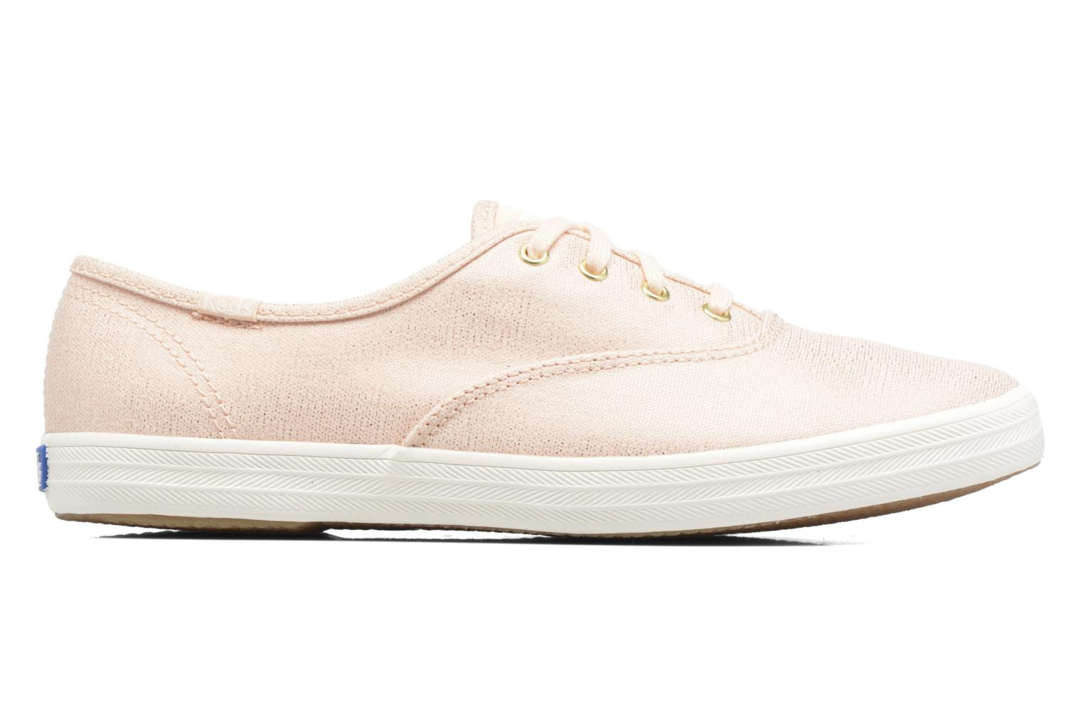 Trainers Keds Ch Metallic Canvas Pink back view