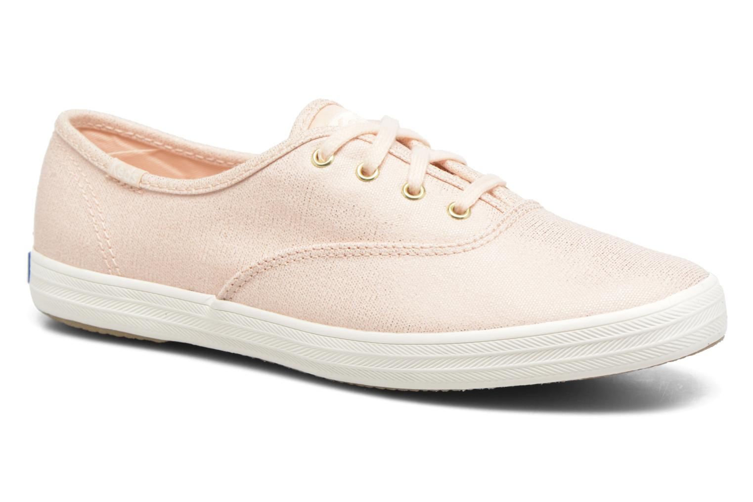 Trainers Keds Ch Metallic Canvas Pink detailed view/ Pair view