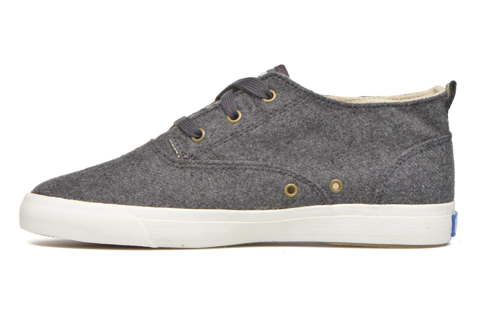 Baskets Keds Triumph Mid Wool Gris vue face