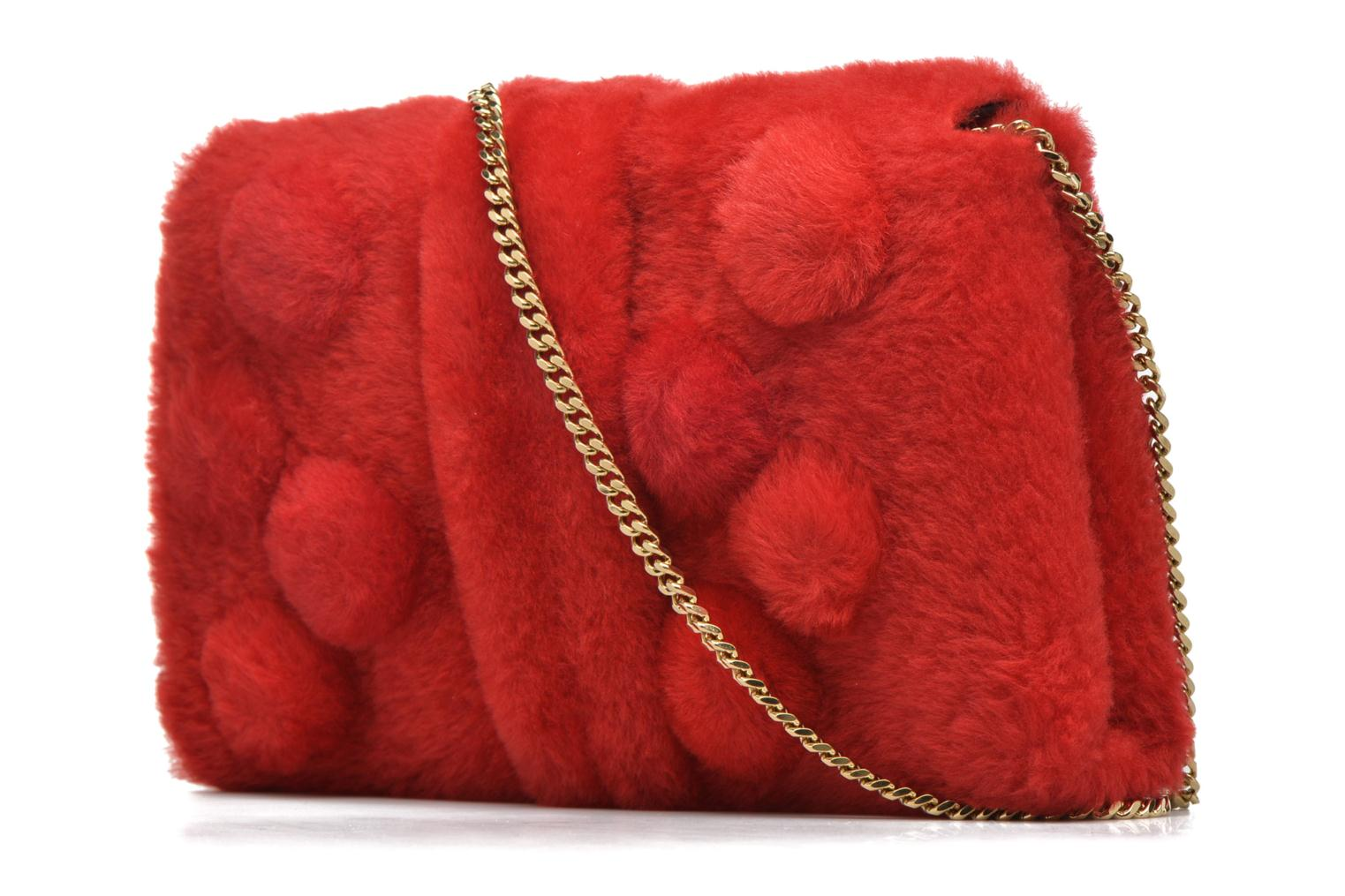 Handbags Sonia Rykiel LE LUCO MATELASSE Porté travers Red view from the right