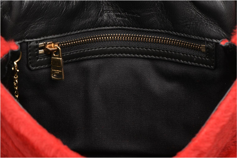 Handbags Sonia Rykiel LE LUCO MATELASSE Porté travers Red back view
