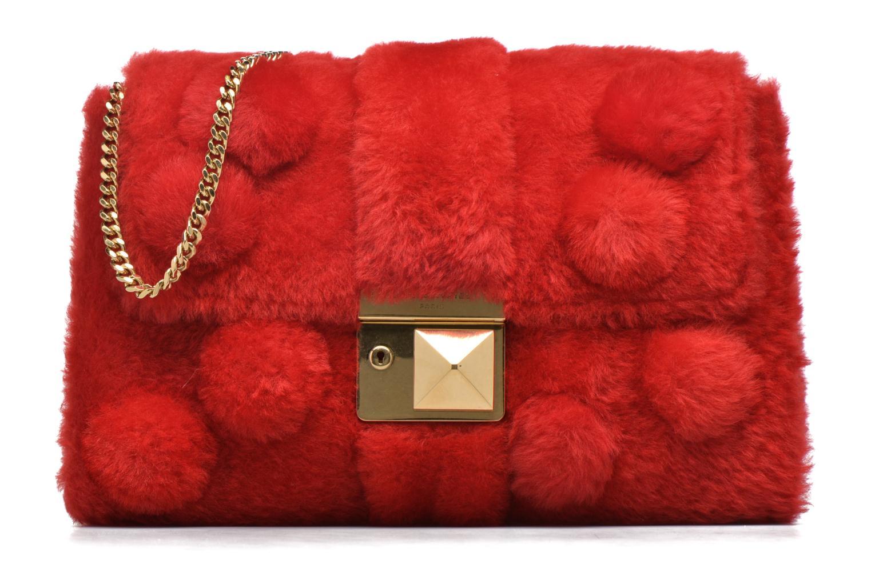 Handbags Sonia Rykiel LE LUCO MATELASSE Porté travers Red detailed view/ Pair view