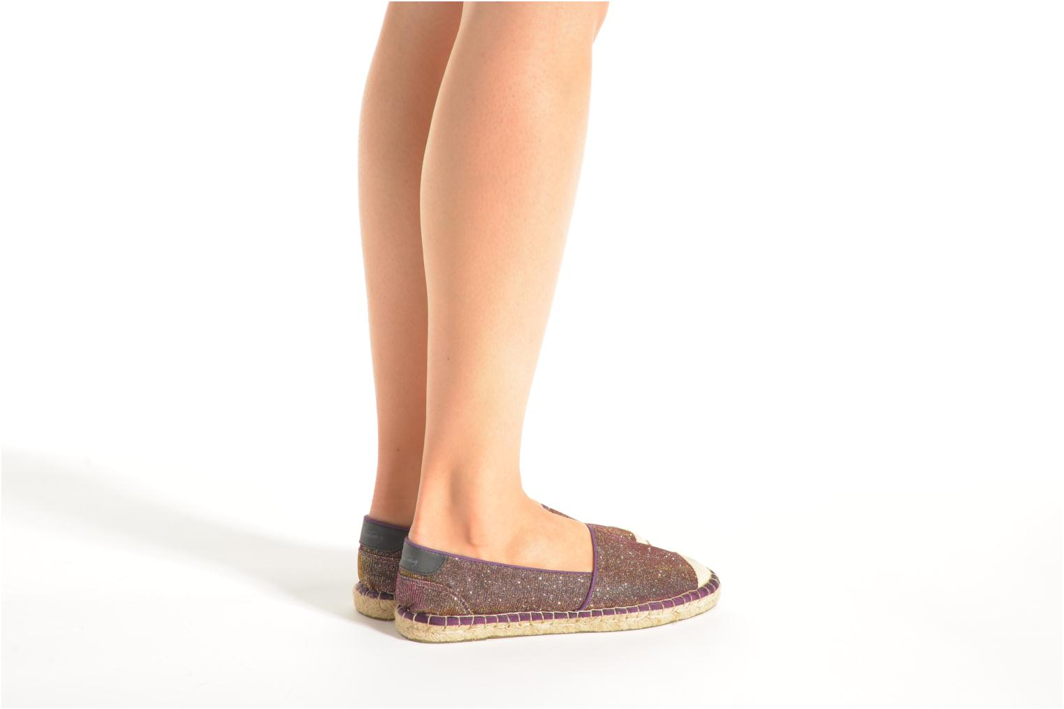 Espadrilles Mustang shoes Tatiana Multicolor view from underneath / model view