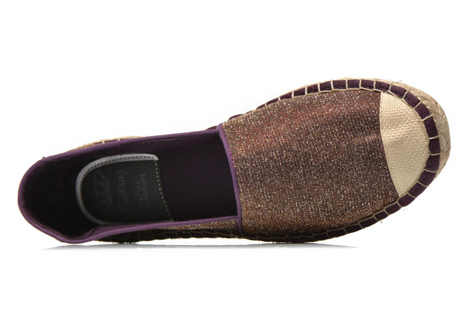 Espadrilles Mustang shoes Tatiana Multicolor view from the left