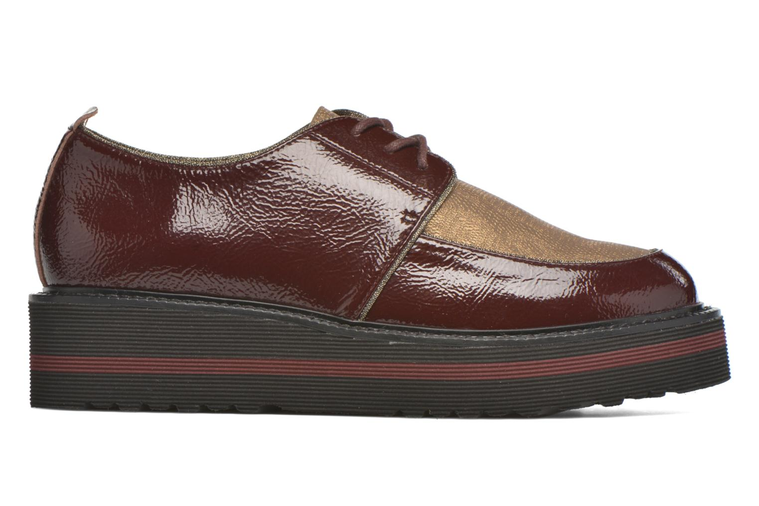 Lace-up shoes No Name Blow Derby Crease / Skin Burgundy back view