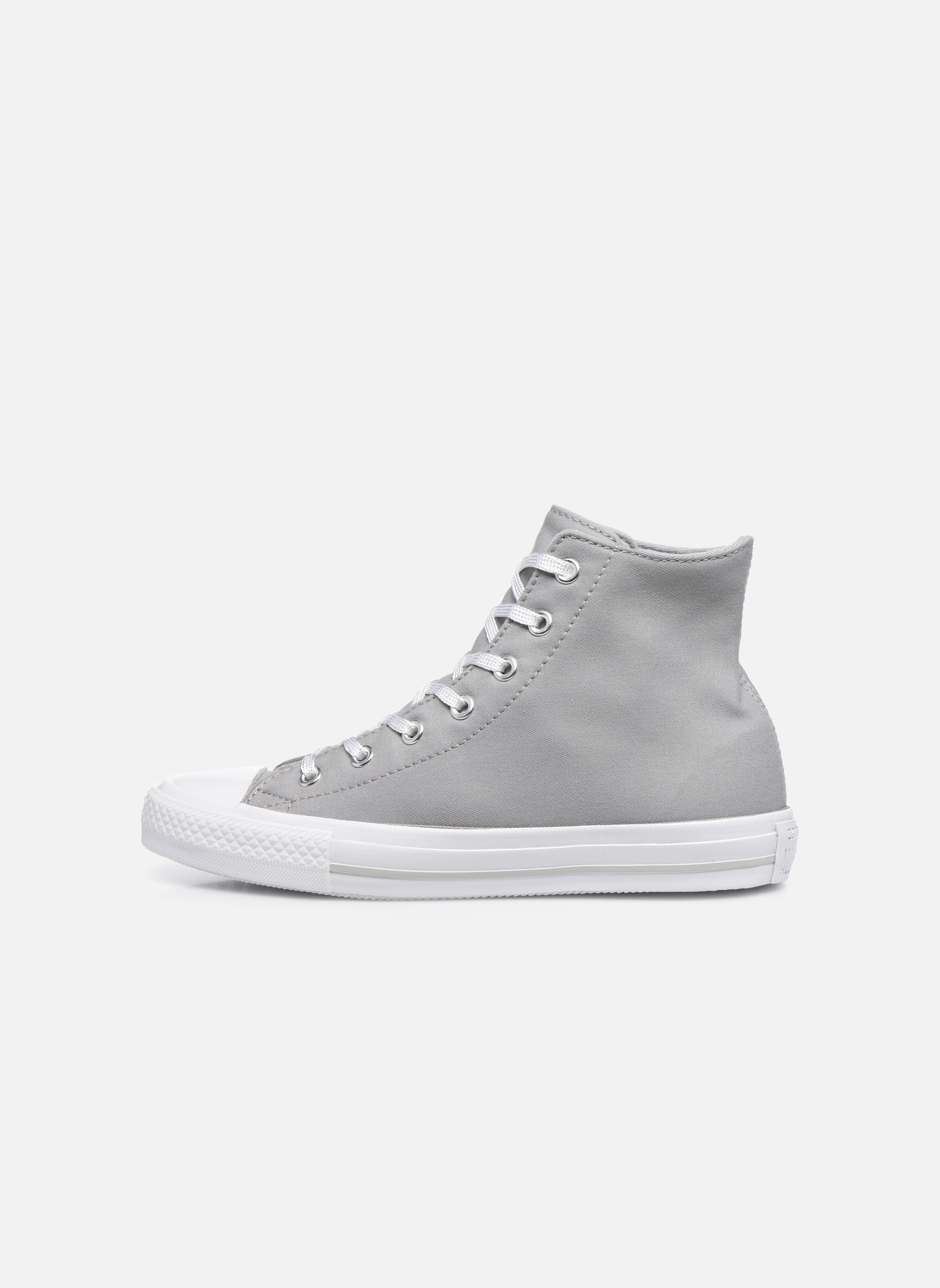 Trainers Converse Chuck Taylor All Star Gemma Twill Hi Grey front view