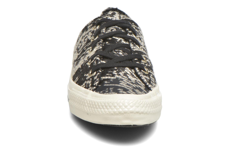 Baskets Converse Chuck Taylor All Star Gemma Ox Noir vue portées chaussures