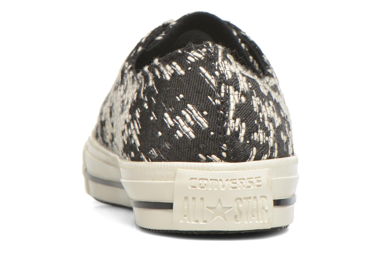 Sneaker Converse Chuck Taylor All Star Gemma Ox schwarz ansicht von rechts