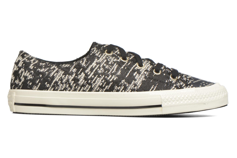 Sneaker Converse Chuck Taylor All Star Gemma Ox schwarz ansicht von hinten