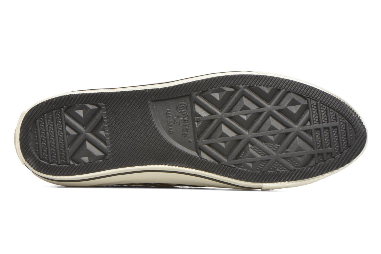 Sneaker Converse Chuck Taylor All Star Gemma Ox schwarz ansicht von oben