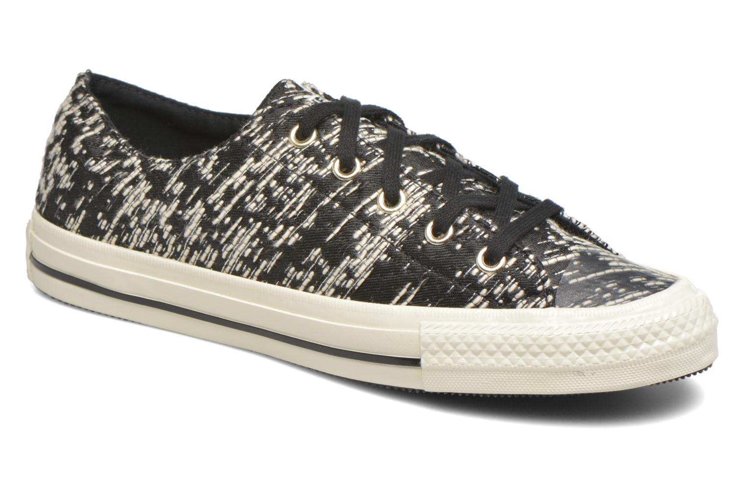 Trainers Converse Chuck Taylor All Star Gemma Ox Black detailed view/ Pair view