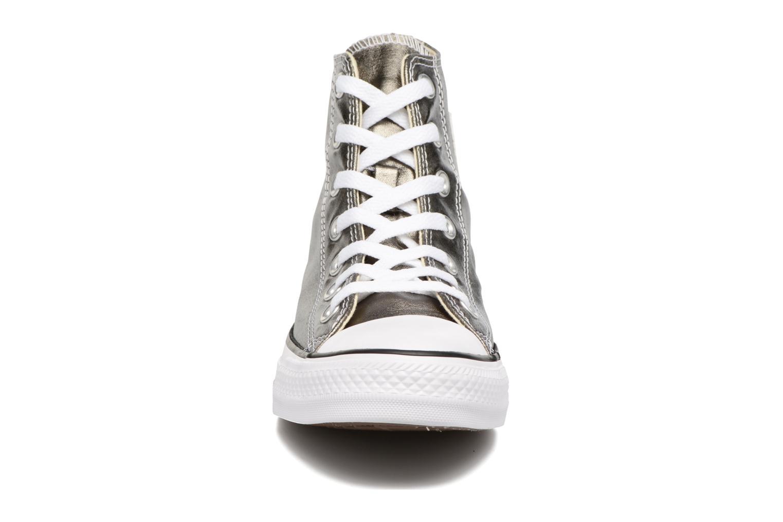 Sneaker Converse Chuck Taylor All Star Hi Metallics W grün schuhe getragen