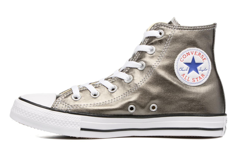 Sneaker Converse Chuck Taylor All Star Hi Metallics W grün ansicht von vorne