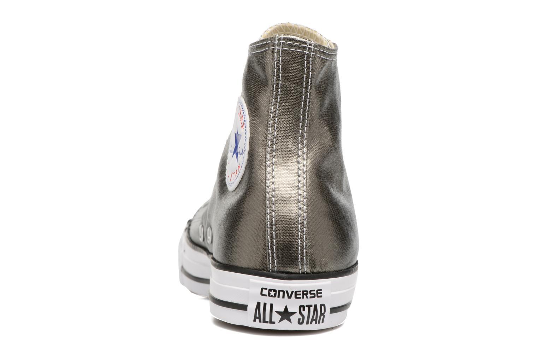 Sneaker Converse Chuck Taylor All Star Hi Metallics W grün ansicht von rechts