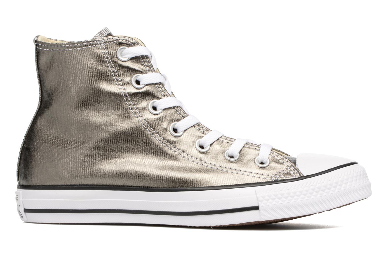 Sneaker Converse Chuck Taylor All Star Hi Metallics W grün ansicht von hinten