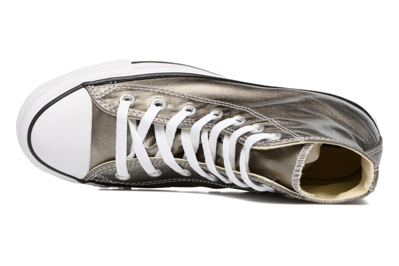 Sneaker Converse Chuck Taylor All Star Hi Metallics W grün ansicht von links